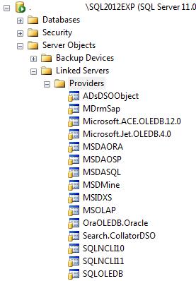 OLE_DB_Providers